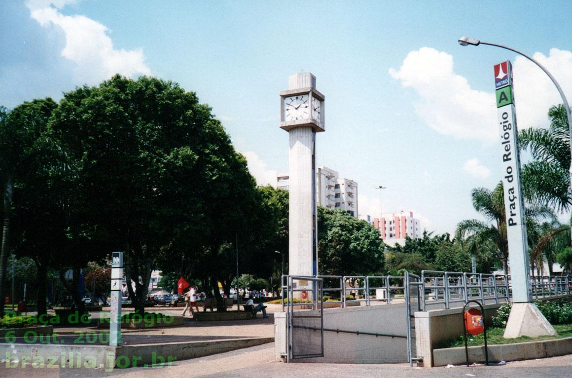 Resultado de imagem para praça do relógio taguatinga